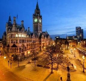 Photo of Central Manchester Sunset